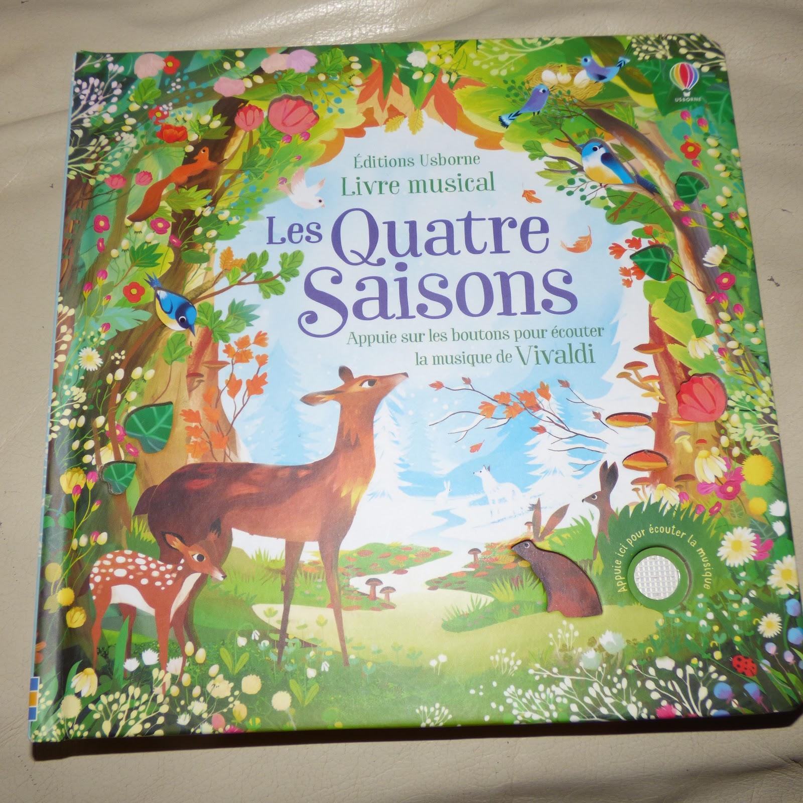 Livre Musical Les Quatre Saisons De Vivaldi Editions