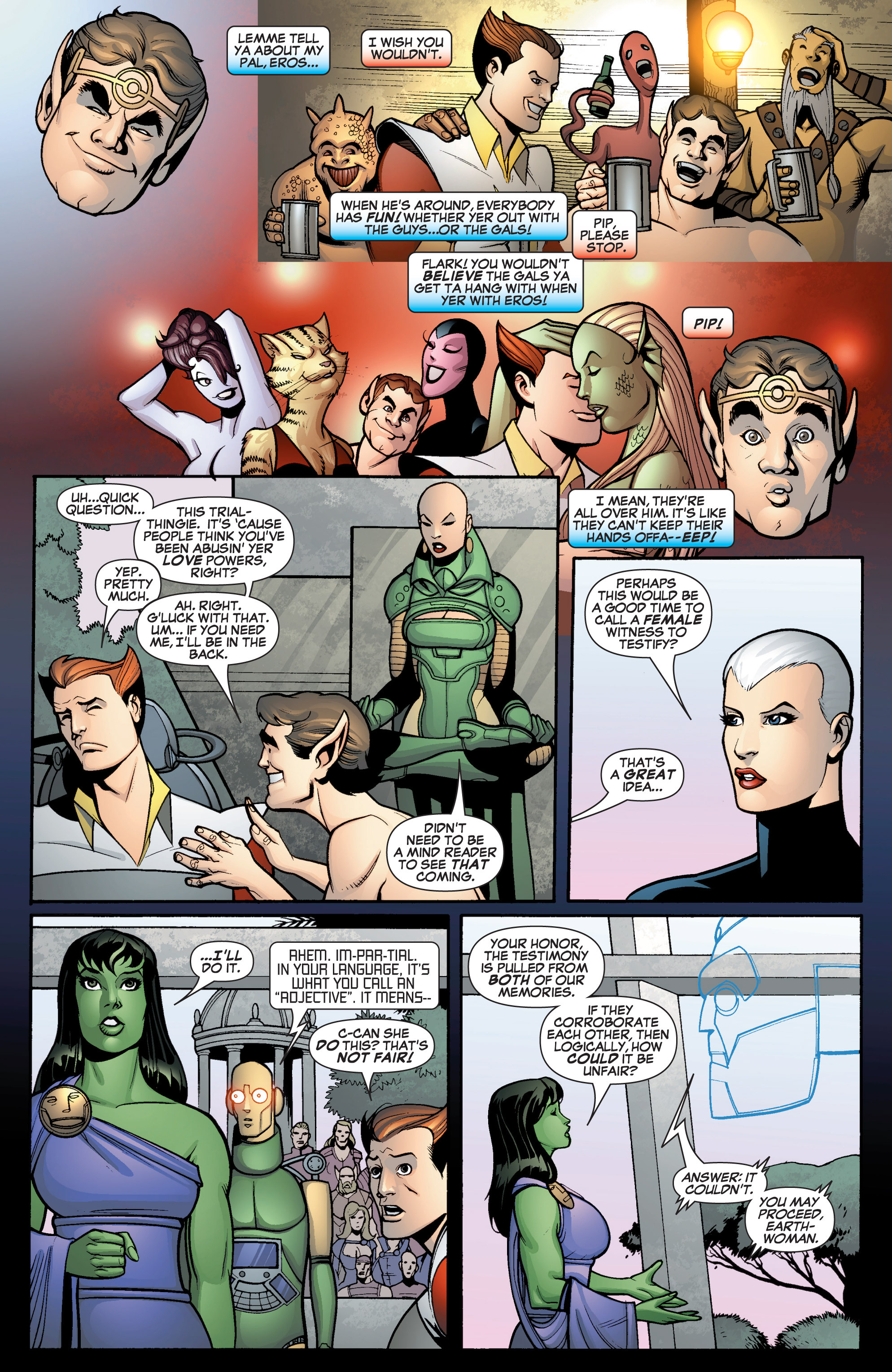 Read online She-Hulk (2005) comic -  Issue #12 - 15
