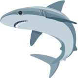 Shark emoticon for Facebook
