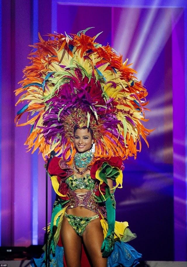 miss jamaica traje tipico ridiculo universo 2015 2016