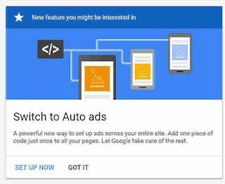 Cara Membuat Iklan Adsense Matched Content Type