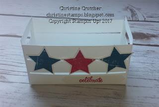 Stampin Up Wood Crate Framelits