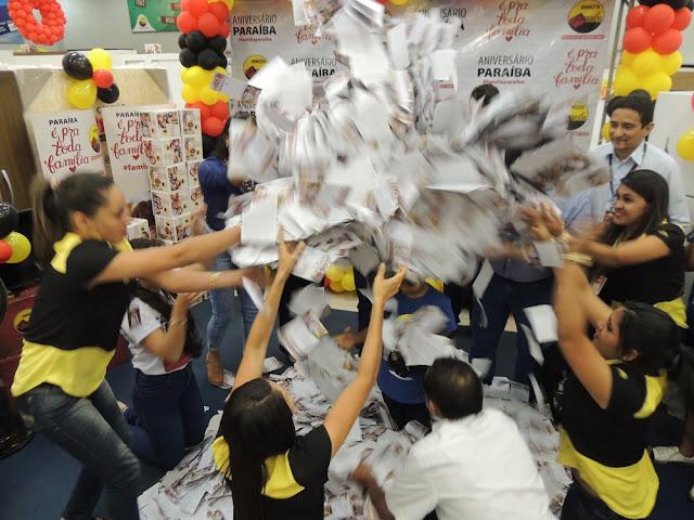 Resultado de imagem para blogdopessoa Armazém Paraíba realizou o 4º Sorteio