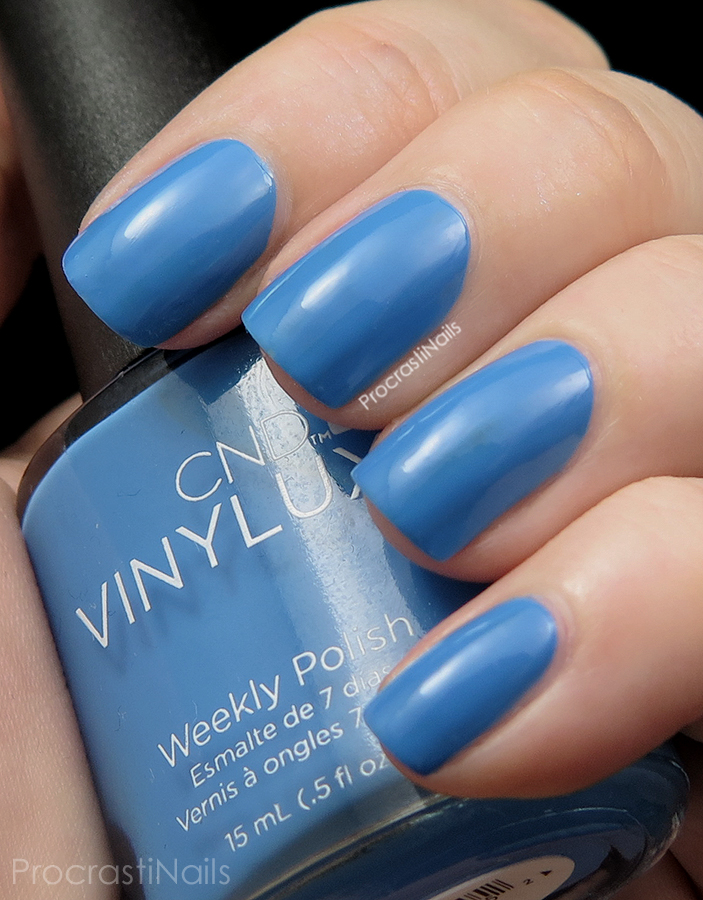 Swatch of Reflecting Pool from the CND Vinylux Garden Muse Collection