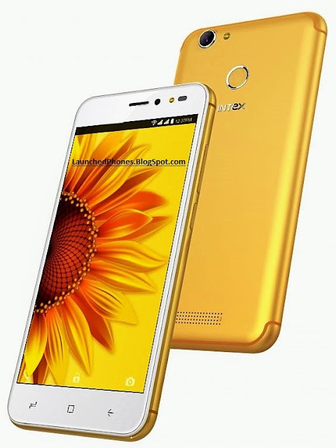 in addition to Blue coloring variants are launched of this telephone Intex UDAY launched amongst the 5.2 Inches Display