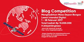 Lomba Menulis Blog Telkom Deadline 28 Februari 2017