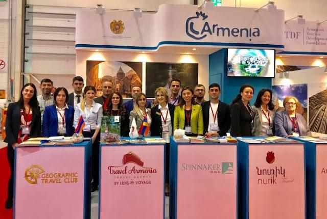Armenia y Artsaj participaron en el London World Travel Market