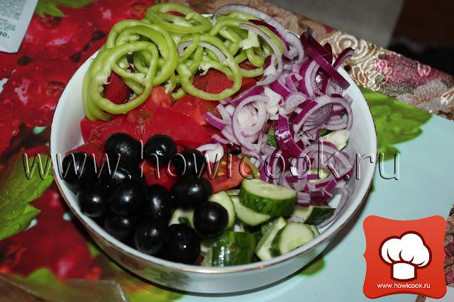 рецепт классического греческого салата