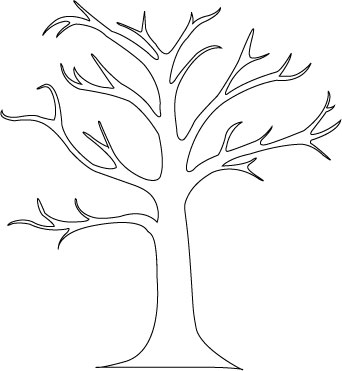 friendship tree template -