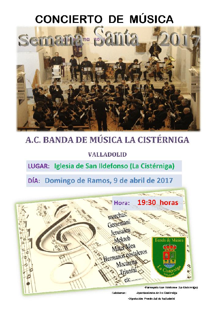 iglesia san ildefonso semana santa 2017 - banda musica cisterniga
