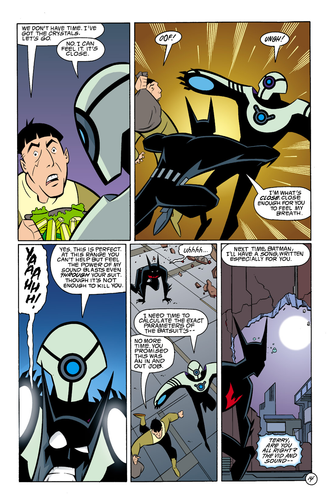 Batman Beyond [II] Issue #5 #5 - English 15