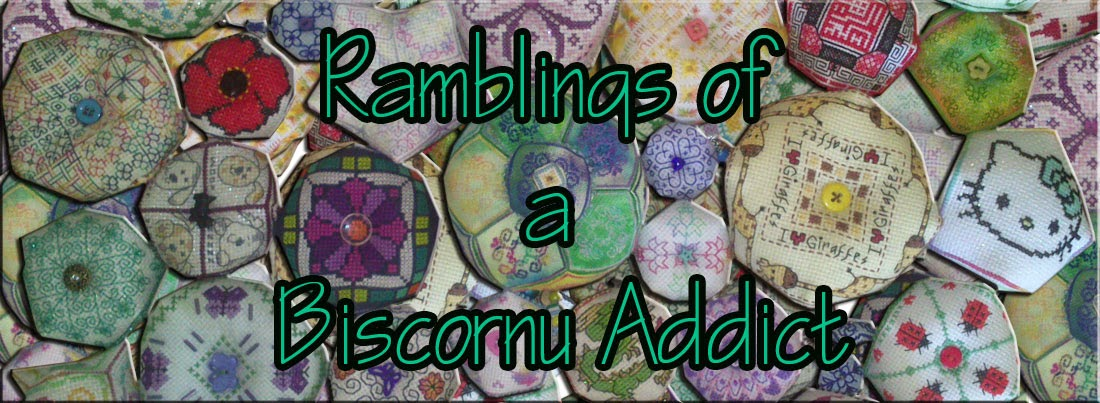 Ramblings of a Biscornu Addict