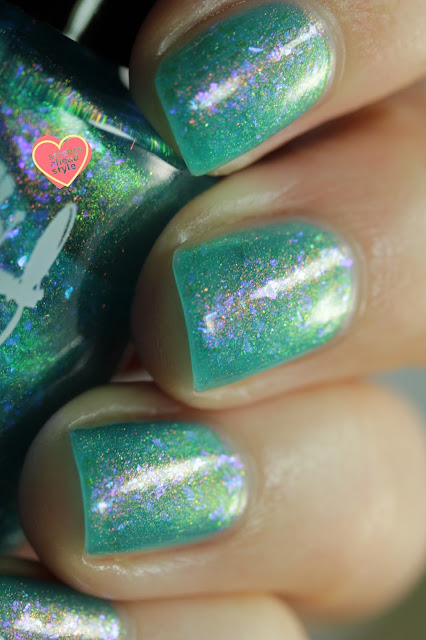 Girly Bits Not Waterlilies swatch by Streets Ahead Style