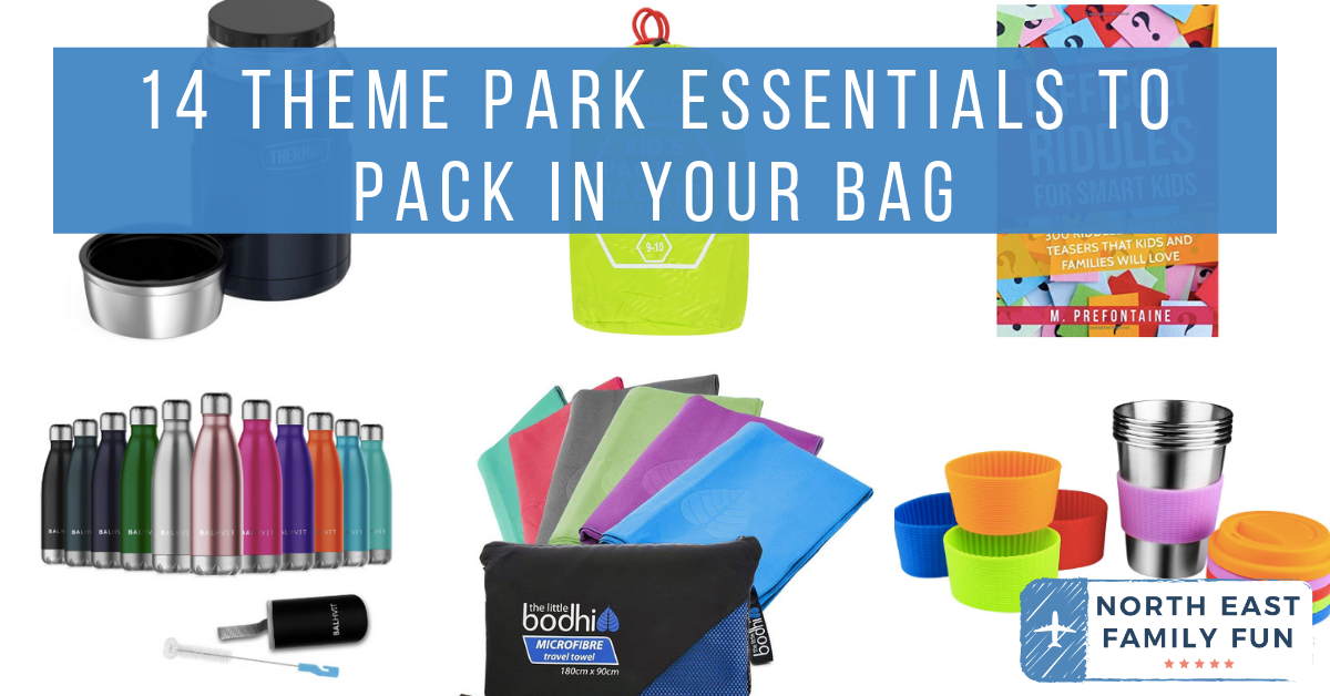 What to pack in your bag for a day at a theme park