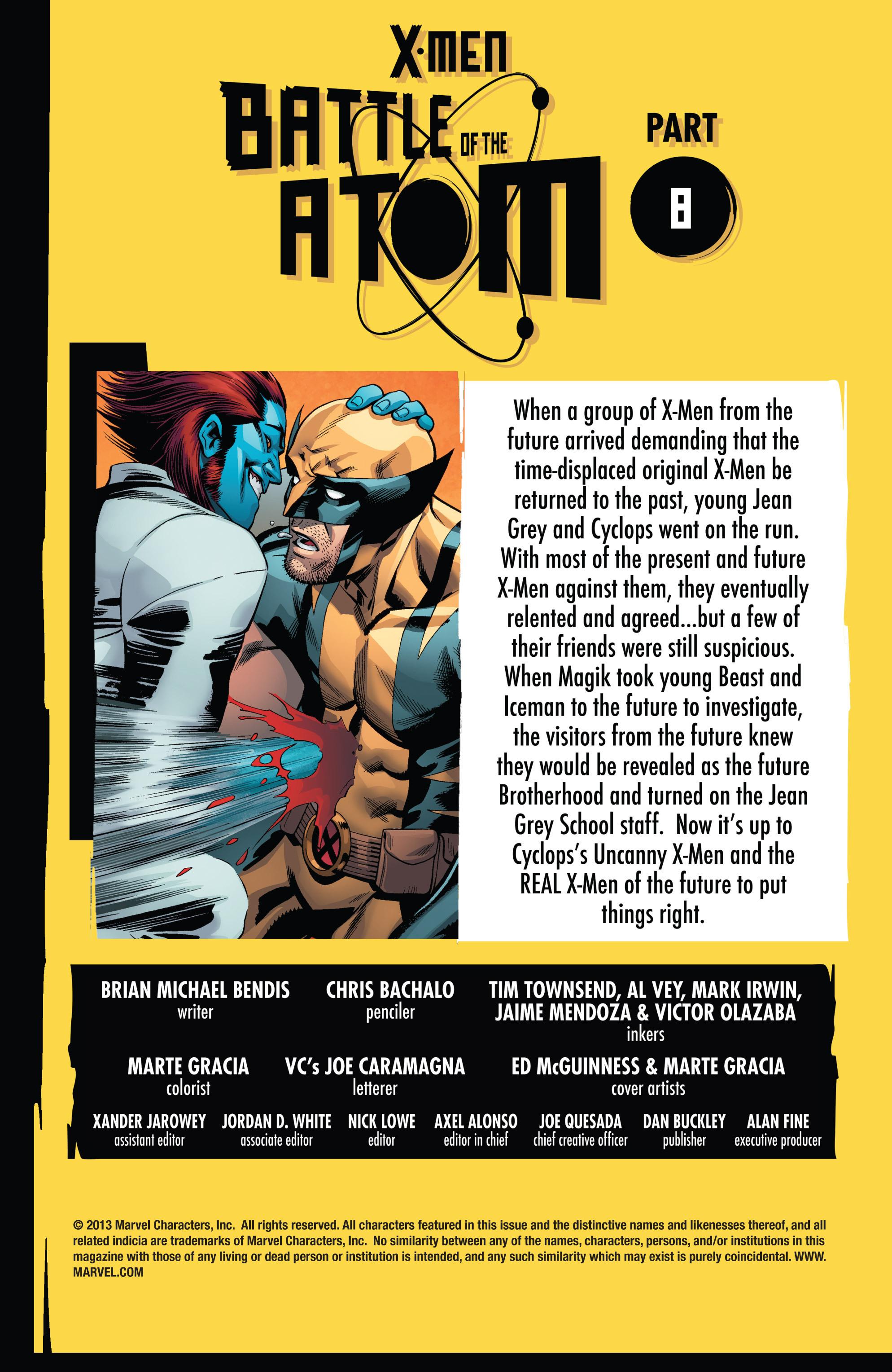 Read online Uncanny X-Men (2013) comic -  Issue #13 - 2