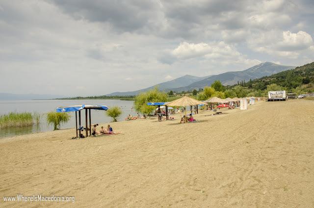 0820 dolno dupeni beach - Dupeni Beach, Prespa Lake