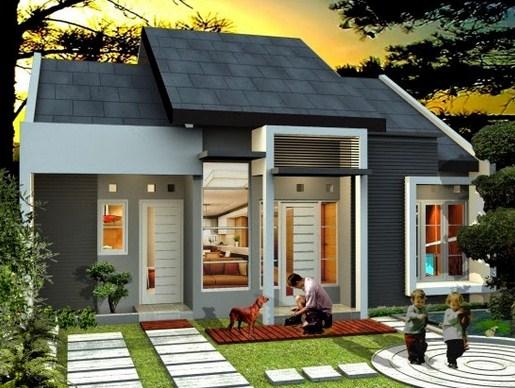 10+ Desain Rumah Minimalis Modern Hemat Biaya | Desain Rumah Minimalis