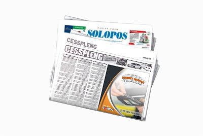 pasang iklan kredit murah di koran solopos