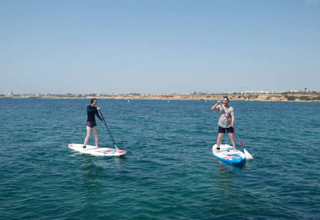 Stand Up Paddling near Torrevieja - Costa Blanca