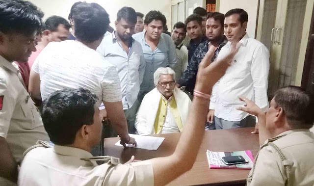 Young Brahmin Ekta Sangha filed FIR against HSSC Board chairman in Old Faridabad police station