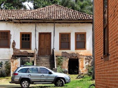 Sede da Fazenda Atalaia em Amparo, no interior de São Paulo.