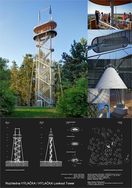 Národní cena za architekturu 2016 - Rozhledna Hýlačka