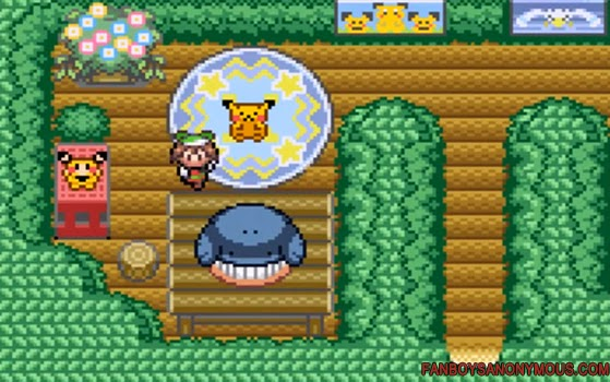 pokemon ruby sapphire secret bases feature game boy