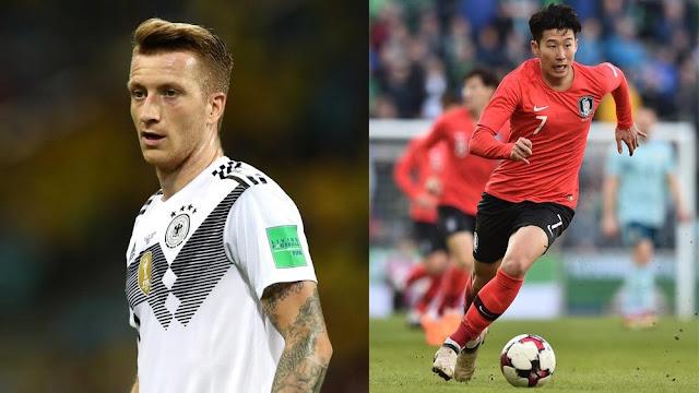 Korea Selatan Menang 2-0, Jerman Tersingkir dari Piala Dunia 2018