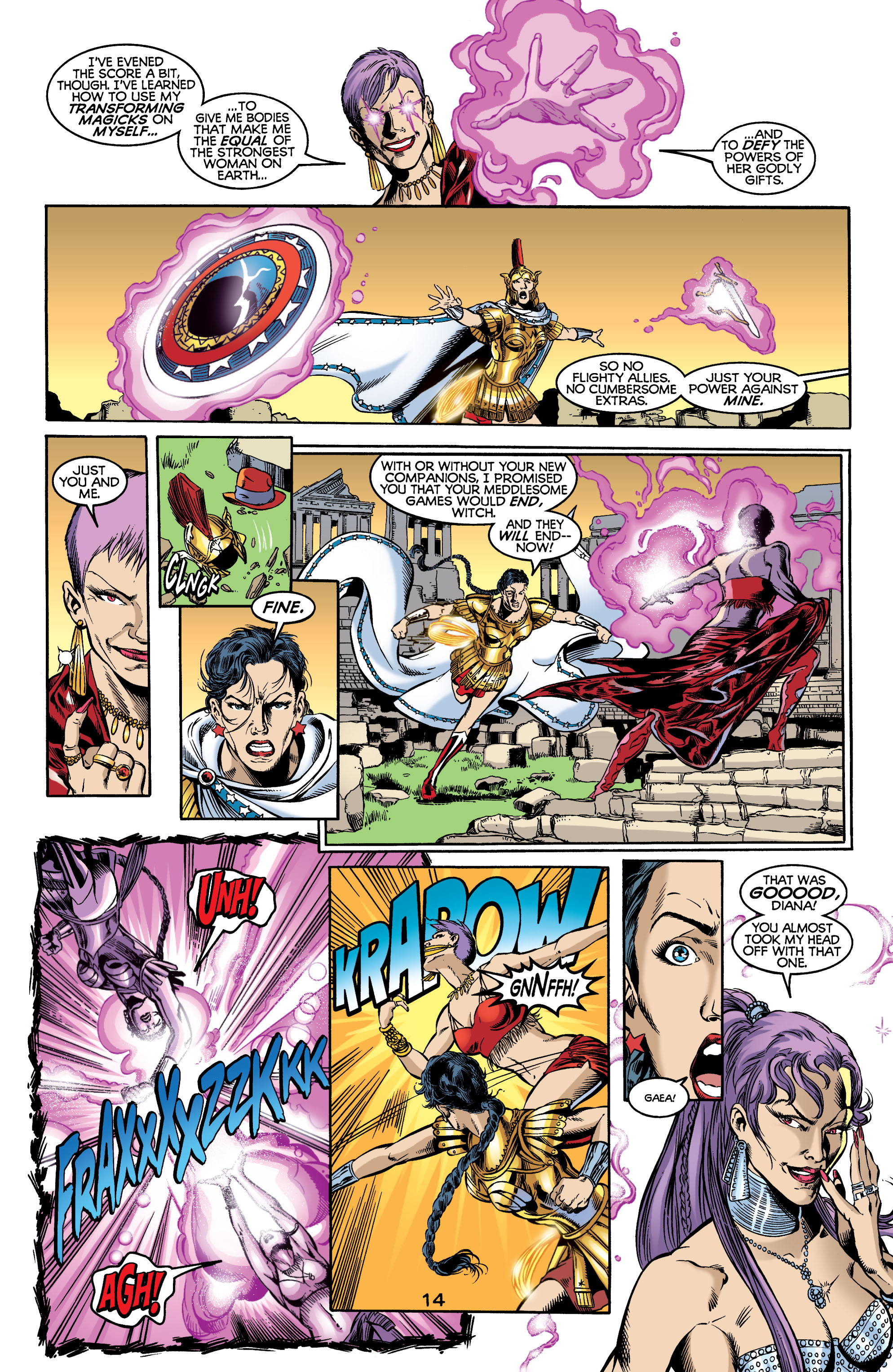 Read online Wonder Woman (1987) comic -  Issue #176 - 15