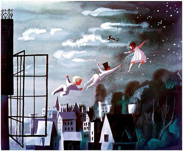 Mary Blair color design for Disney's Peter Pan