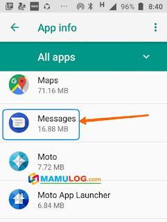 click messaging app