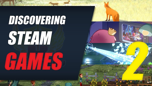 Discovering Steam Games EP2 (The First Tree, Legion War, Meltys Quest, Flashing Lights & More)