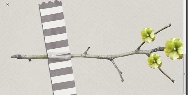 Tuto scrap marquer le pli du scotch #clin d'oeil design