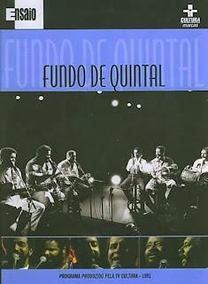 CD Fundo de Quintal - É Aí Que Quebra a Rocha (1991)