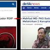 Bupati Purbalingga dari PDIP Kena OTT, Komentar Warganet untuk Mahfud MD ini Mengejutkan