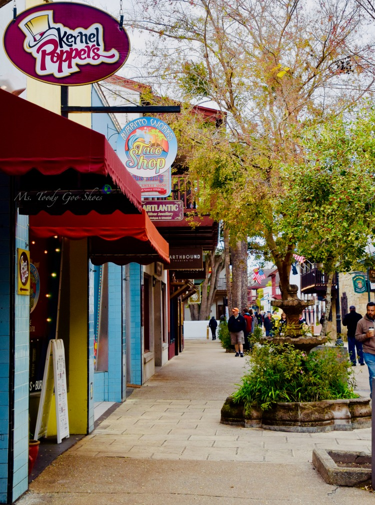 St. George Street - One of 8 Things To Do in St. Augustine, Florida | Ms. Toody Goo Shoes