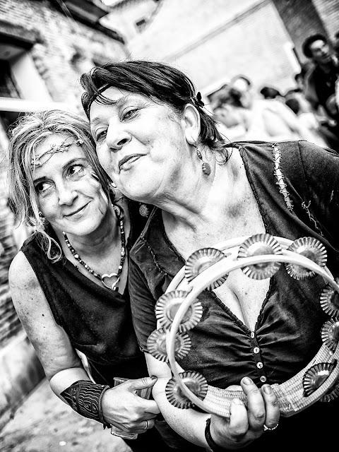 Mercado Medieval de las 3 culturas Zaragoza 2017 B&N Street Photo