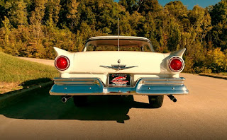 1957 Ford Fairlane Coupe Rear