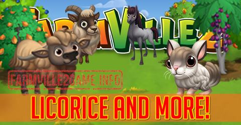 Farmville 2 Licorice and More