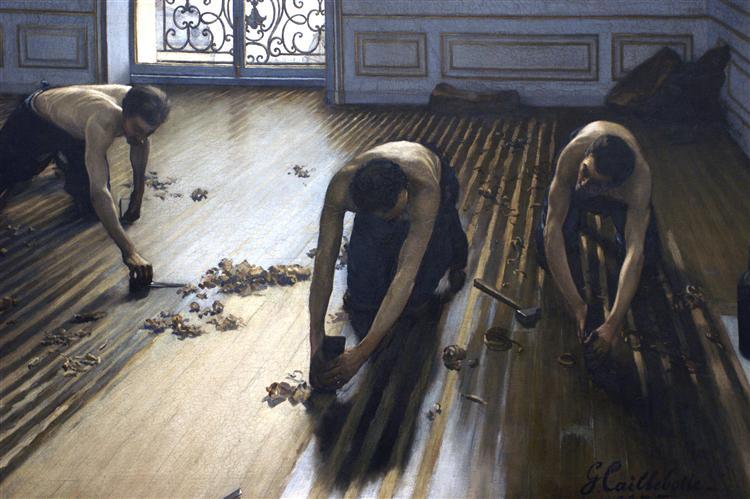 Gustave Caillebotte, Arbeit, Dankbarkeit, Geld, Familie, Schicksal, Zukunft, kinder, schweres leben, schweiß, gedanken, unterschicht, landarbeiter, entschlossenheit, niemals aufgeben, mutig sein, paintings, malerei, bild, poetische Art