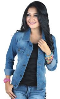 Jaket Jeans Wanita Model Terbaru