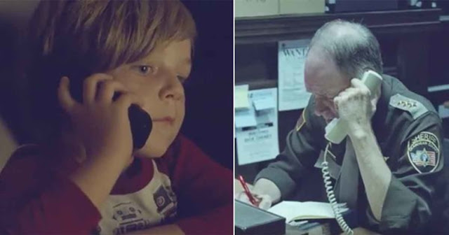 Young Boy Looks For His Mom In Heaven. He Decided To Dial 911 And The Reaction Of The Police Brought Tears To Everyone!