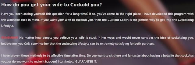 Cuckold Coach - Unique Niche