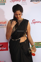 Sindhu looks fabulous in Black Saree designer choli at Mirchi Music Awards South 2017 ~  Exclusive Celebrities Galleries 011.JPG