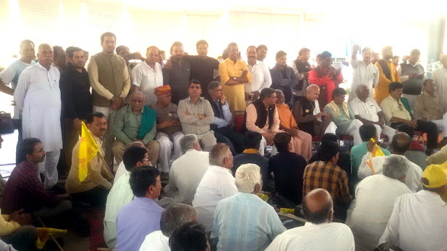 It is also a crime to demonstrate peacefully in BJP government, INLD condemns the stoppage of Kisan tour
