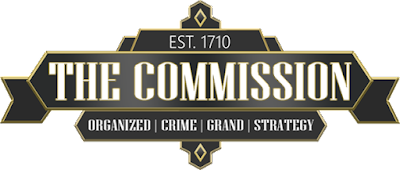 The Commission: Organized Crime Grand Strategy - Logo