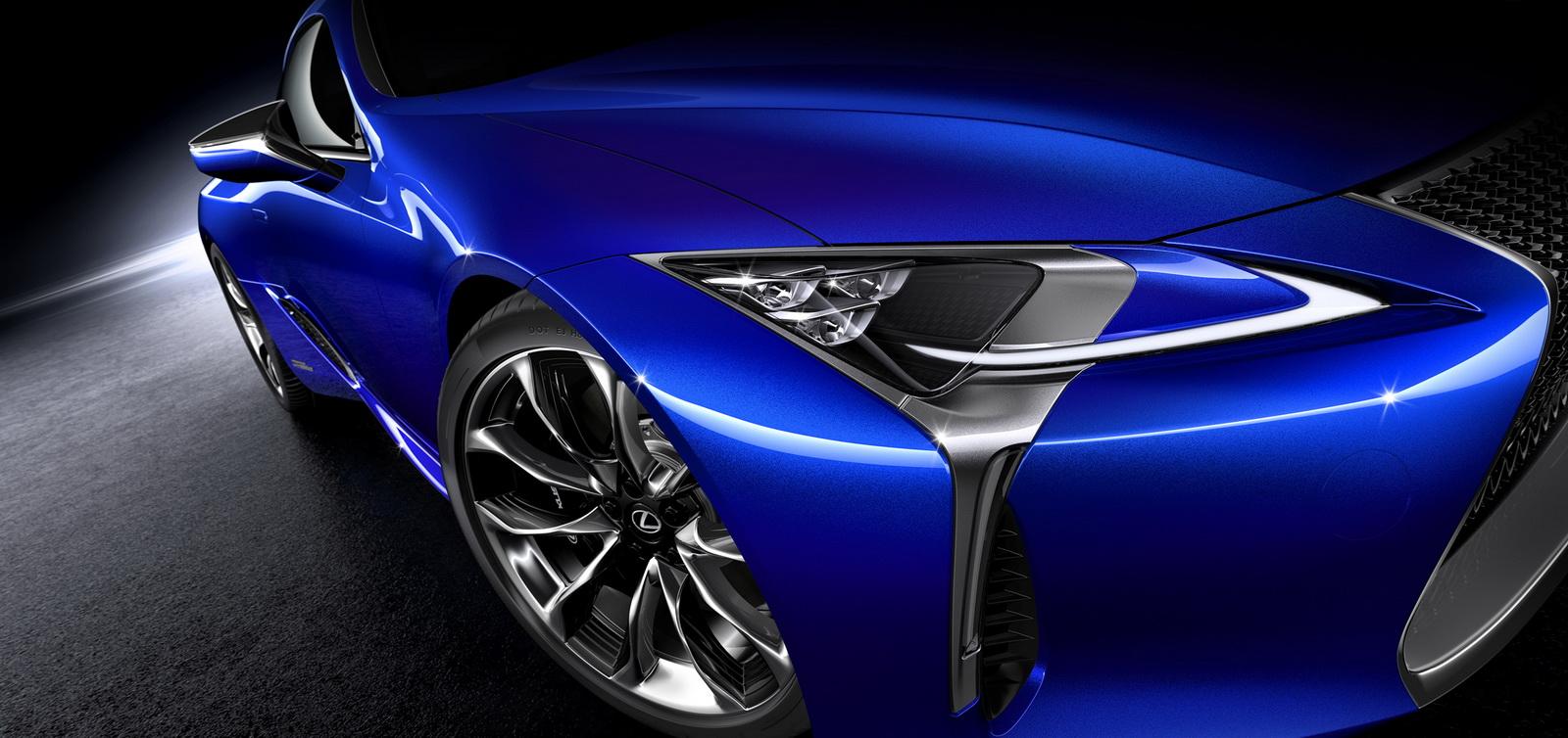 Bật mí siêu phẩm Lexus LC500h 2017 trước ngày ra mắt