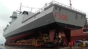 """Consegnata fremm """"Federico Martinengo"""" alla Marina Militare"""