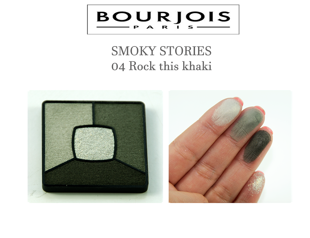 Bourjois SMOKY STORIES 04 Rock this khaki