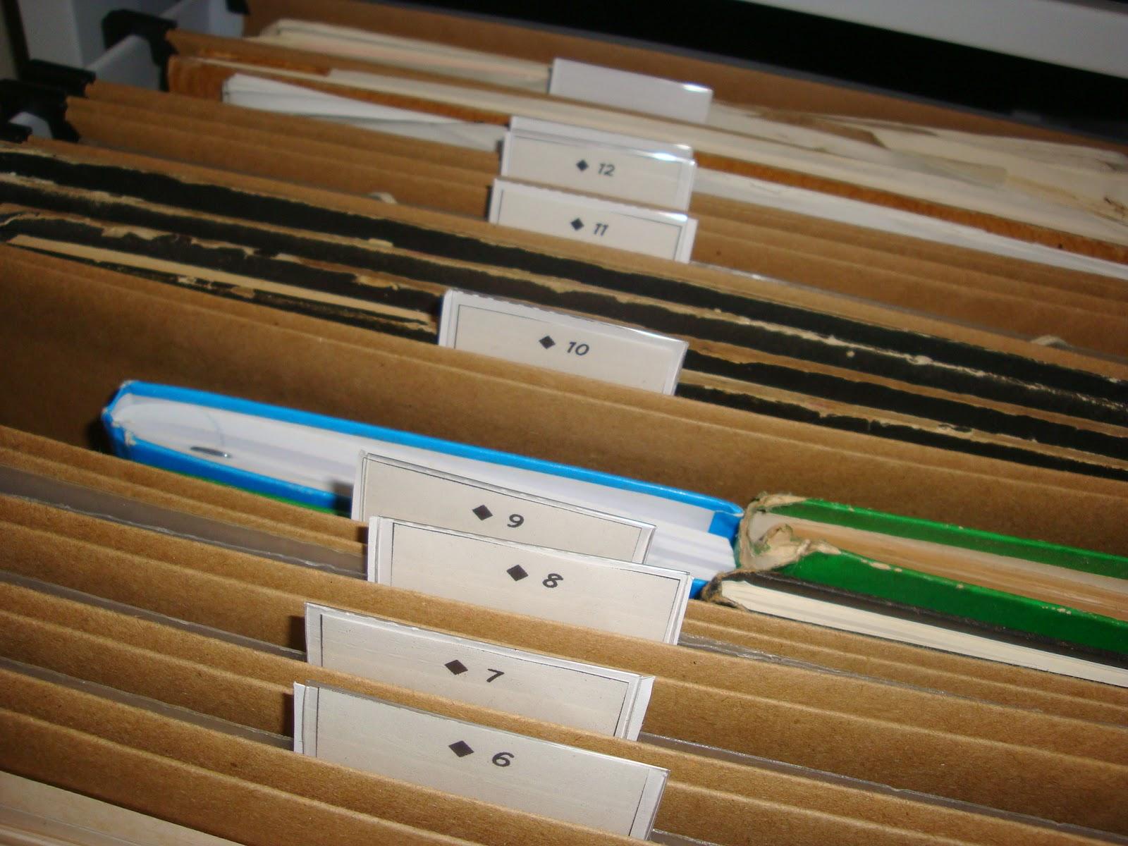 Um jeito diferente de organizar um Arquivo de Aço